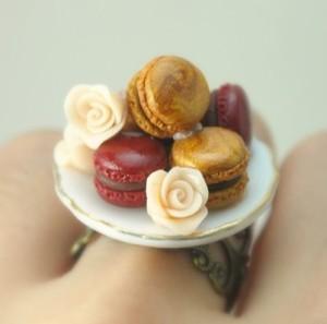 Macaron Tray Ring