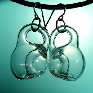Klein Bottle Earrings