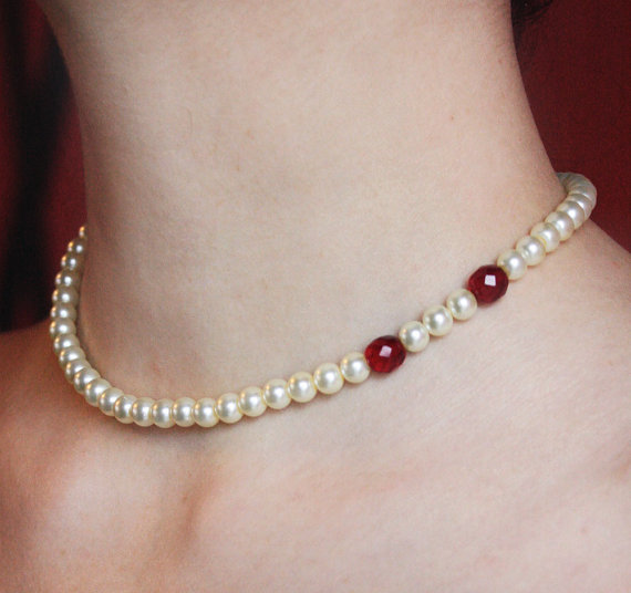 Vampire Bite Mark Choker