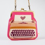Typewriter Purse