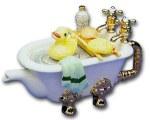 Bathtub Teapot