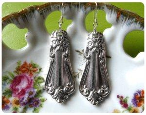 Let's Spoon Valley Rose Earrings
