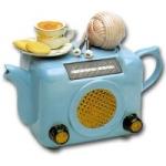 Retro Radio Teapot