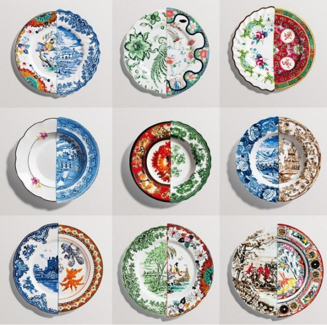Seletti HYBRID plate collection