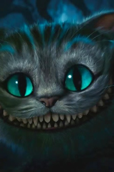 Cheshire Cat because he's awesome.